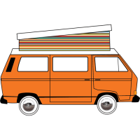 VW T25 Devon Poptop 1980 - 1990 Roof