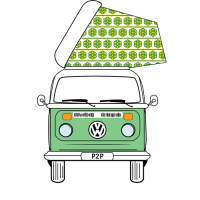 VW T2 Super Viking Replacement Pop Top Canvas