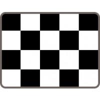 Vinyl Check Floor Tiles Pack