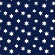 Rhapsody Blue Stars Design