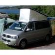 T4 Westfalia California Rear Hinge Pop Top Campervan Insulators