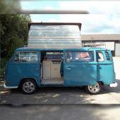 VW T2 Dormobile Side Elevating Pop Top Canvas