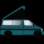 Mazda Bongo Replacement Elevating Pop Top Roof Canvas