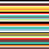 Original Multicolour Stripe Design