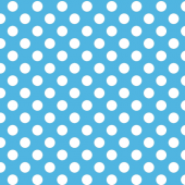 Baby Blue Polkadot Design