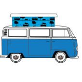 VW T2 Devon 1968-75 Replacement Pop Top Canvas