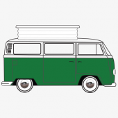 VW T2 Devon Concertina 1968-75 Replacement Pop Top Canvas