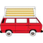 VW T25(T3) Super Viking Replacement Pop Top Canvas