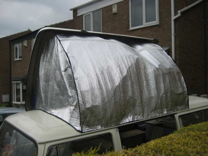 T2 Dormobile Side Elevating Pop Top Campervan Insulators