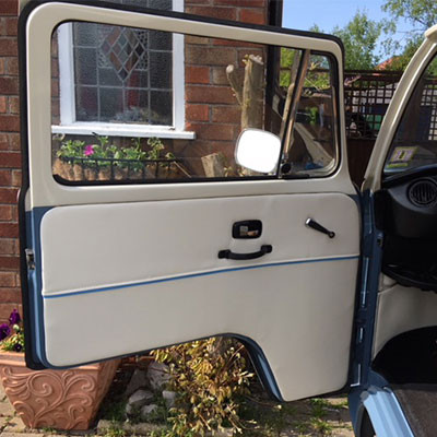 VW T2 Bay Window Door Cards
