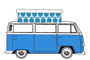 VW T2 Devon Poptop 75 Onwards Roof