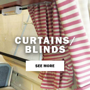 Camper Blinds And Material Examples