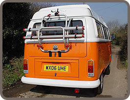 Fiamma Bike Rack on VW T2